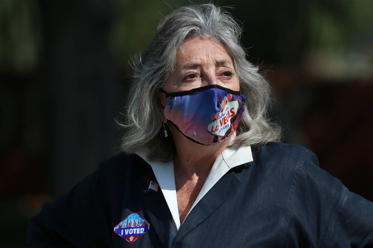 La representante Dina Titus, demócrata por Nevada, en una foto de archivo del miércoles, 21 d ...