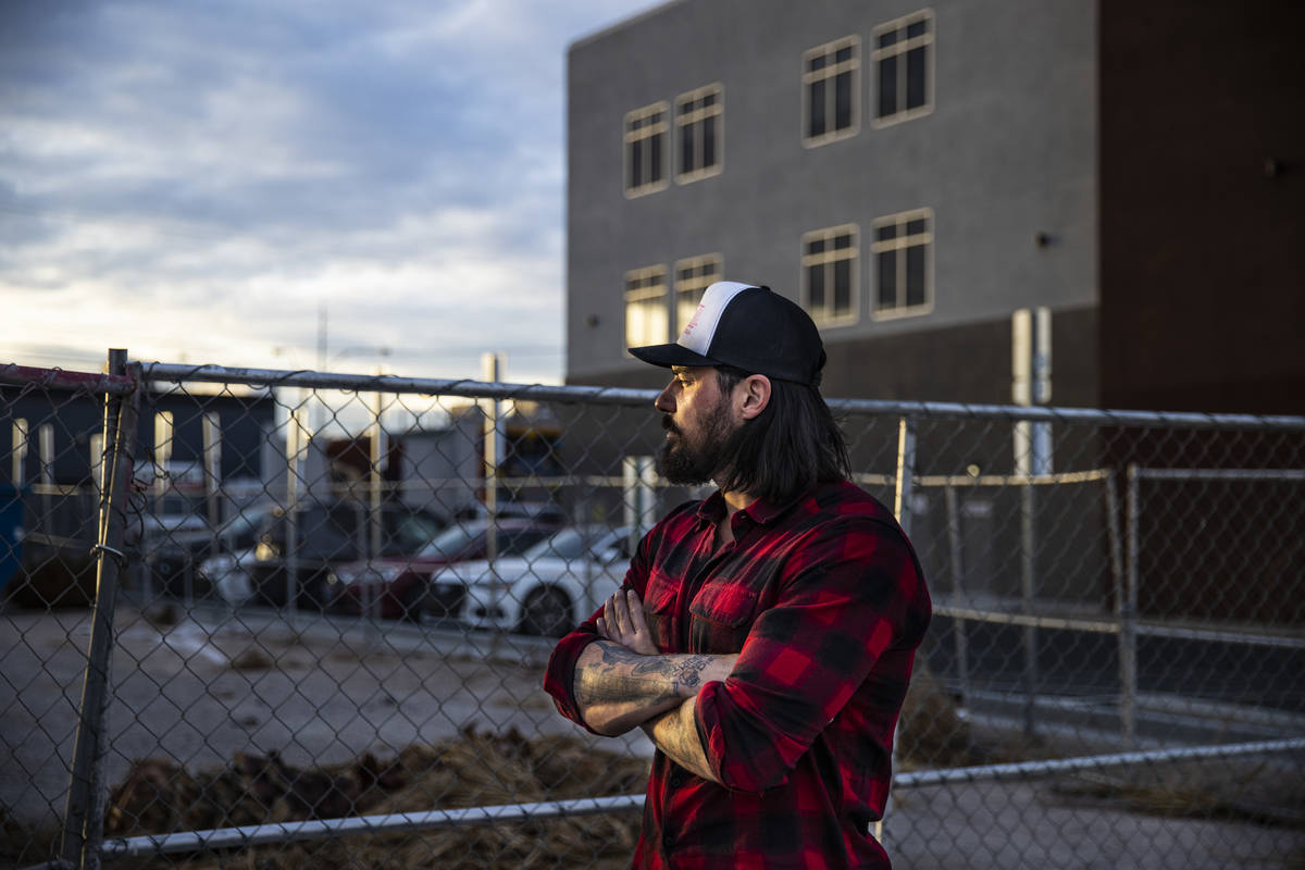 Jason Craig, de In The Moment Group, frente a la propuesta de un parque de camiones de comida q ...