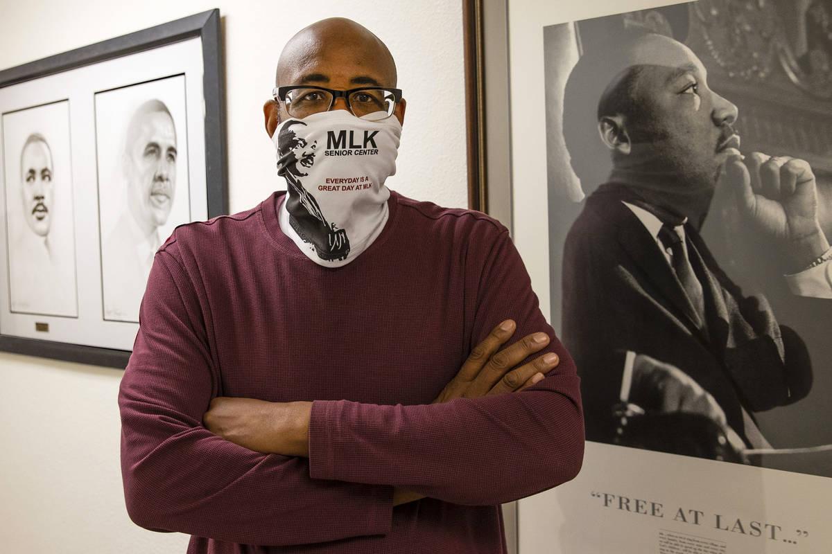 Byron Goynes es el director del Martin Luther King Jr. Senior Center de North Las Vegas. (Bizua ...