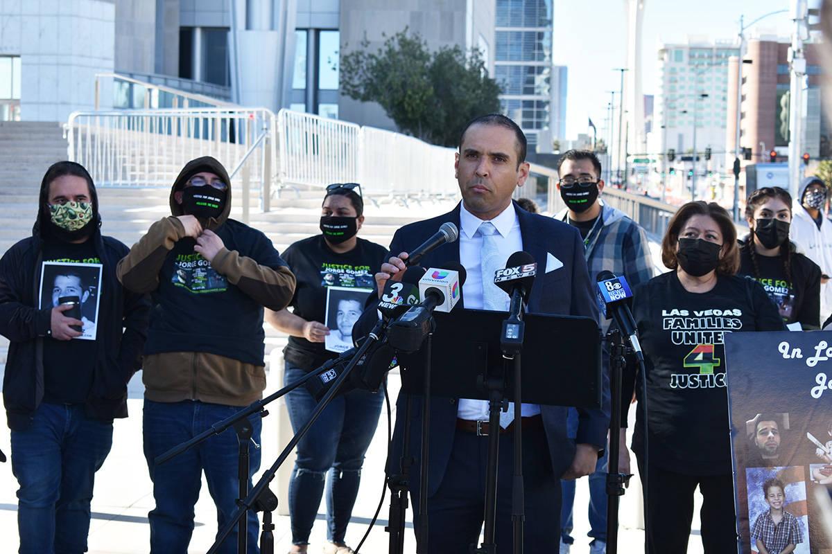El abogado de la familia Gómez, Rodolfo González, aseguró que el punto importante en el caso ...