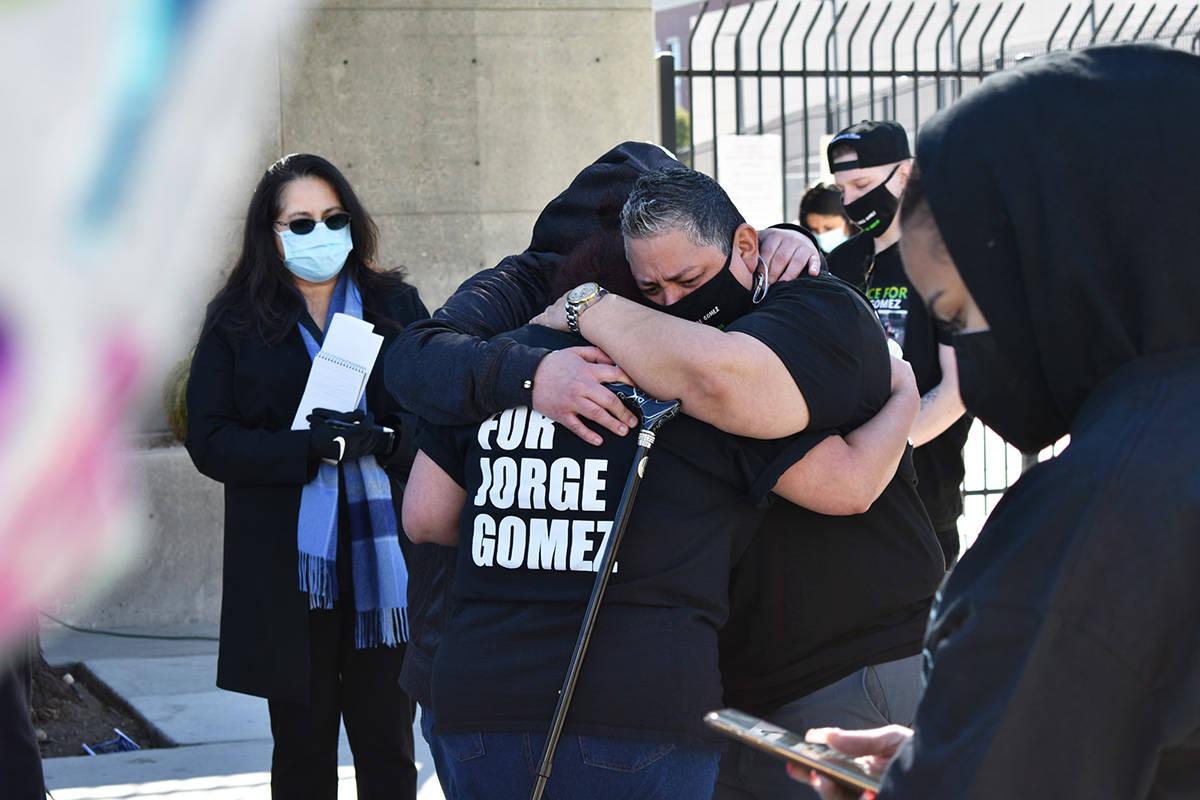 Familiares de Jorge Gómez realizaron una conferencia de prensa para exponer información y seg ...