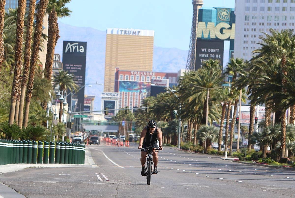 Se pronostica una temperatura máxima de 67º para el Valle de Las Vegas el lunes, 22 de febrer ...