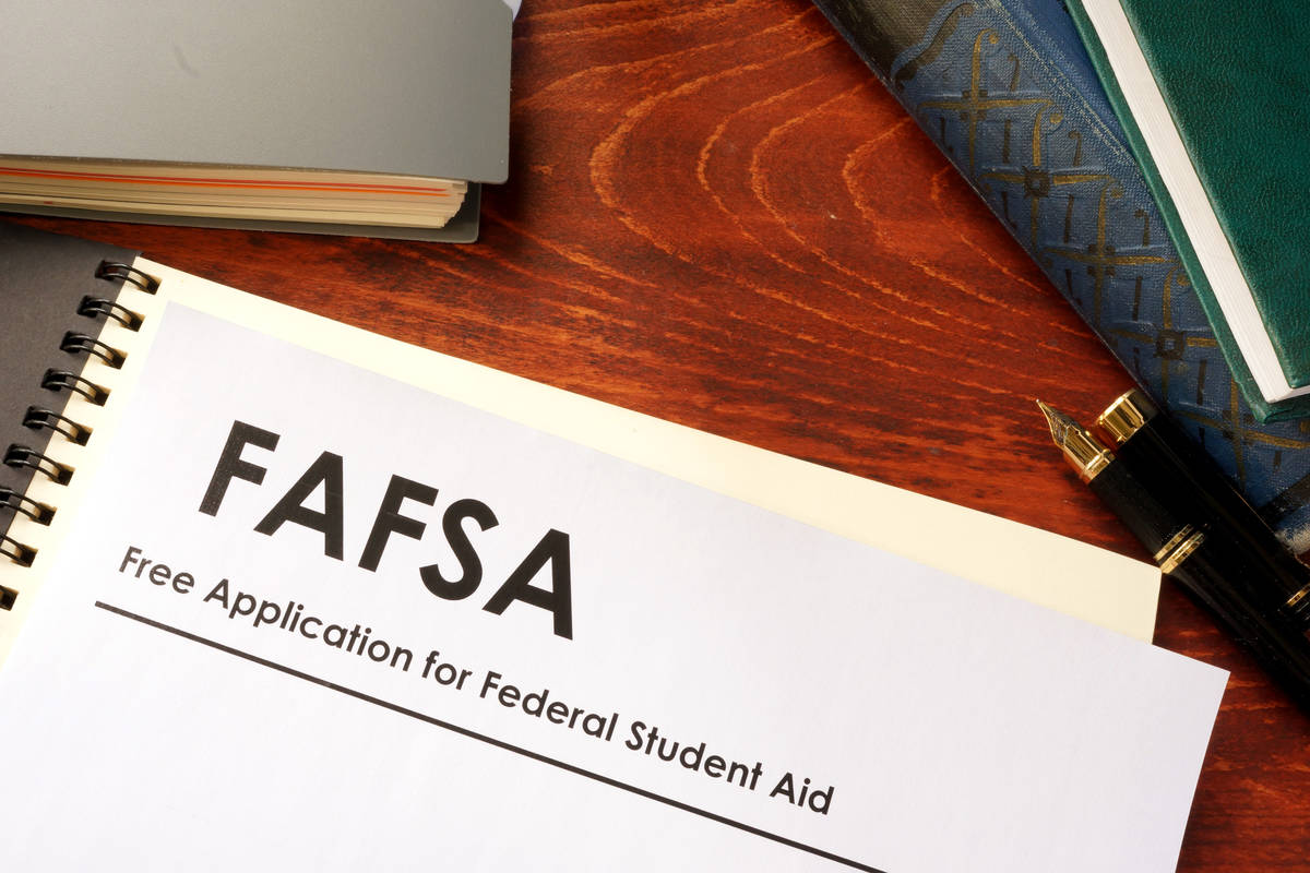 Free Application for Federal Student Aid (Getty Images).