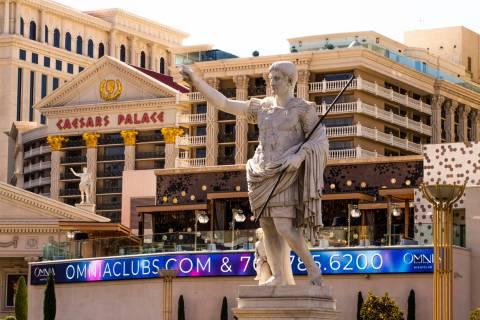 Caesars Palace el martes, 8 de octubre de 2019 en Las Vegas. (L.E. Baskow/Las Vegas Review-Jour ...