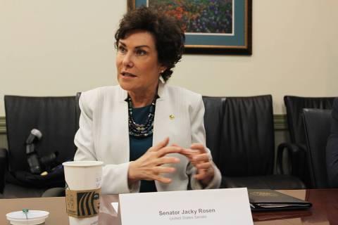 La legislación impulsada por la senadora Jacky Rosen garantizaría la protección y seguridad ...