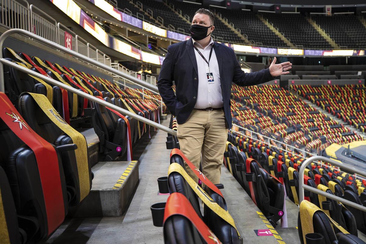Chris Engler, director ejecutivo de operaciones del estadio, habla de las nuevas característic ...