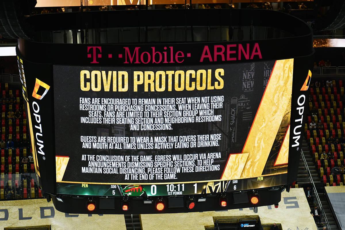 Los aficionados regresaron a presenciar un juego de Vegas Golden Knights, pero debieron seguir ...