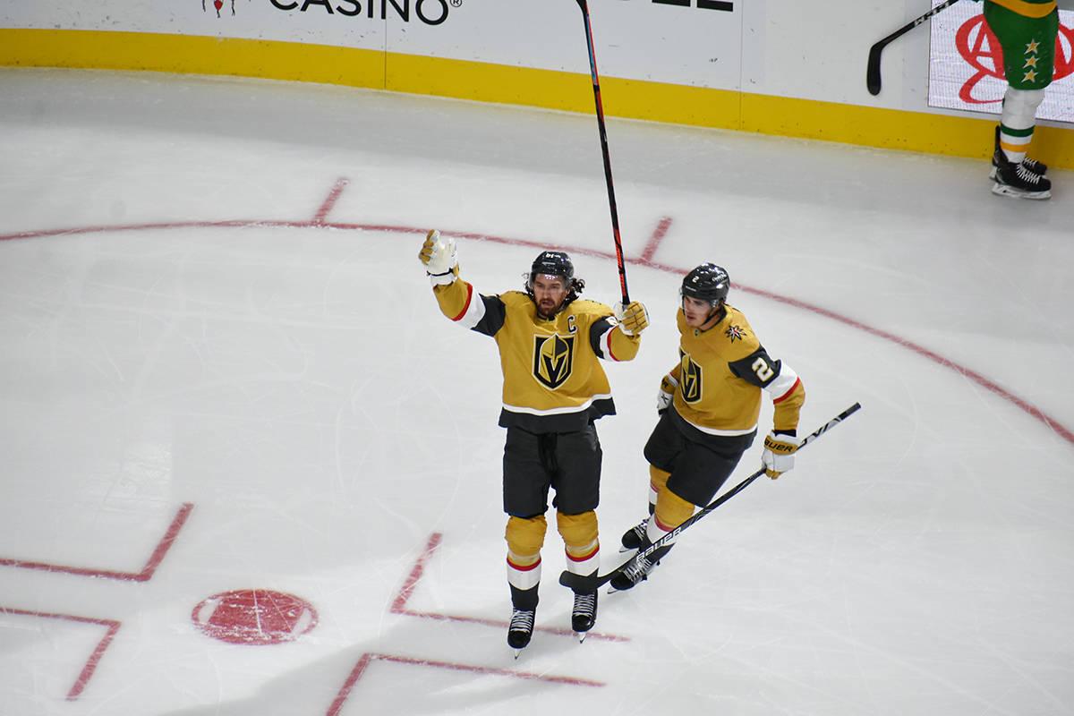 Vegas Golden Knights goleó 5-1 a Minnesota Wild en juego correspondiente a la temporada 2020-2 ...