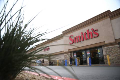 El supermercado Smith's en 850 S. Rancho Drive en Las Vegas el viernes, 1º de marzo de 2019. ( ...