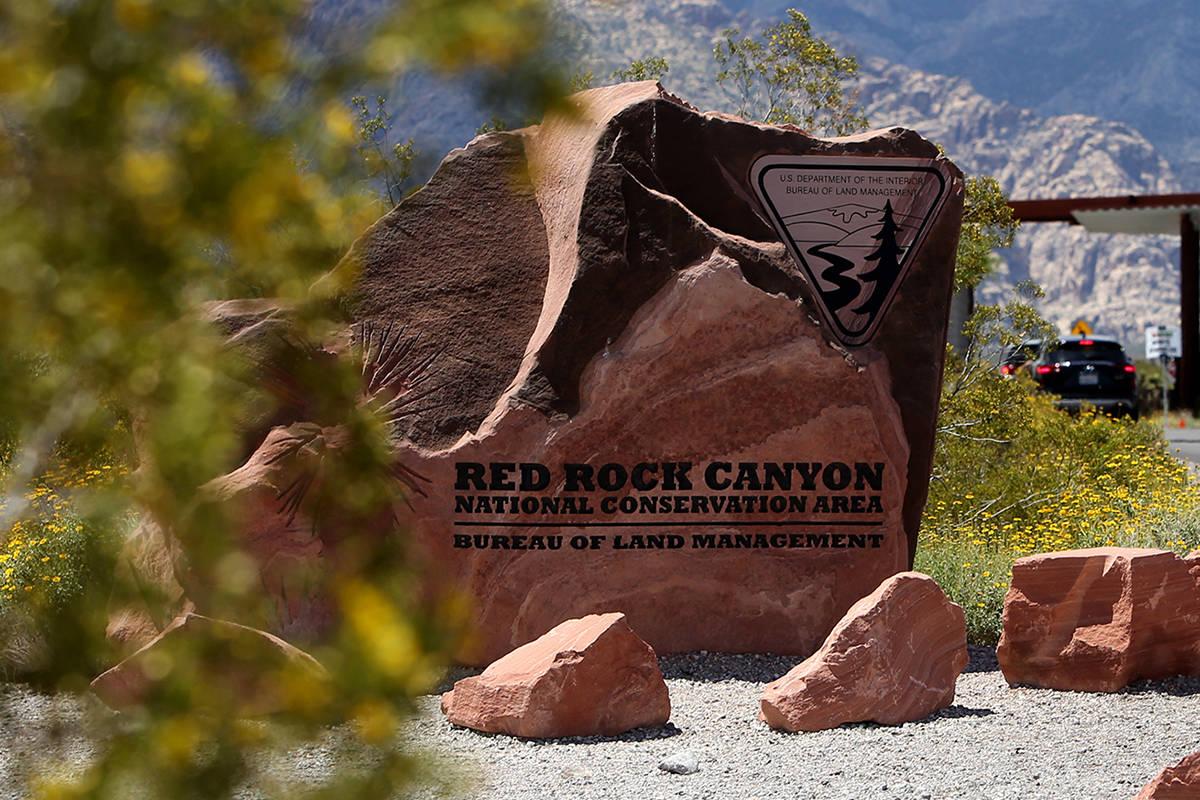 Área de conservación nacional de Red Rock Canyon. [Foto Rachel Aston / Las Vegas Review-Journal]