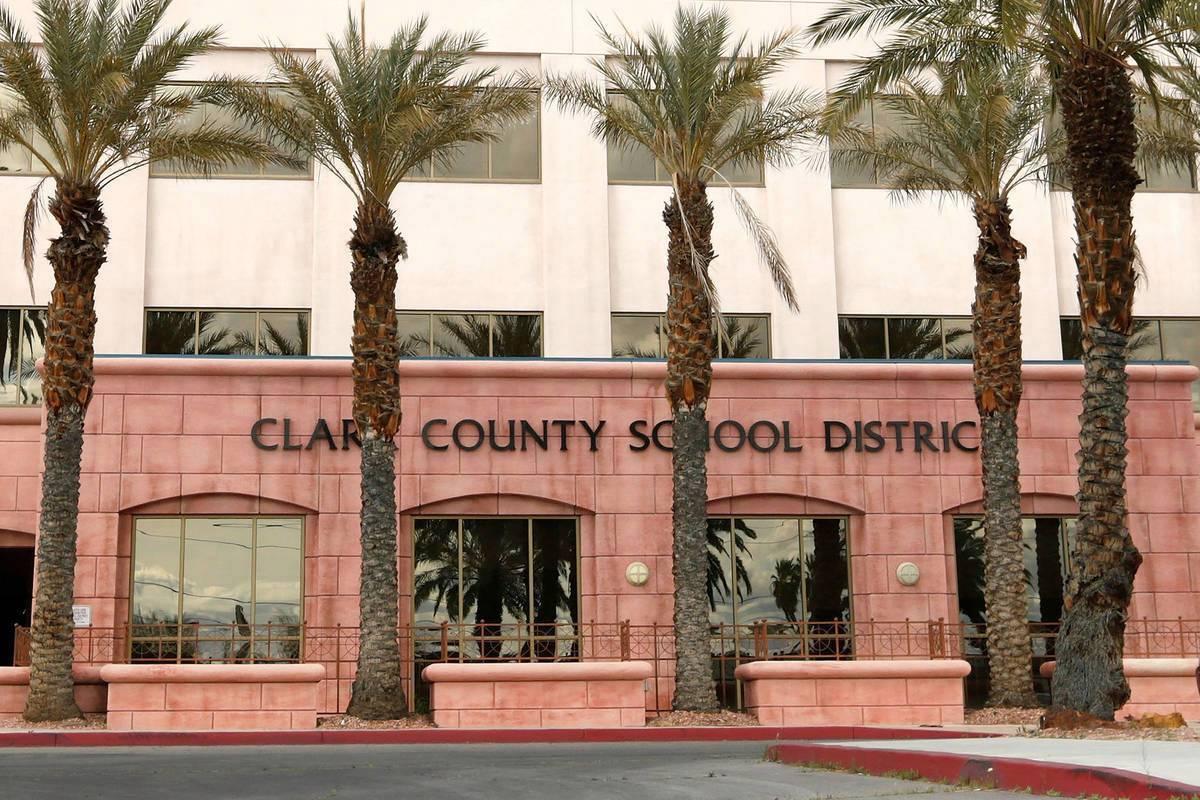 Fotografía de archivo del Centro Administrativo del Distrito Escolar del Condado Clark en Las ...