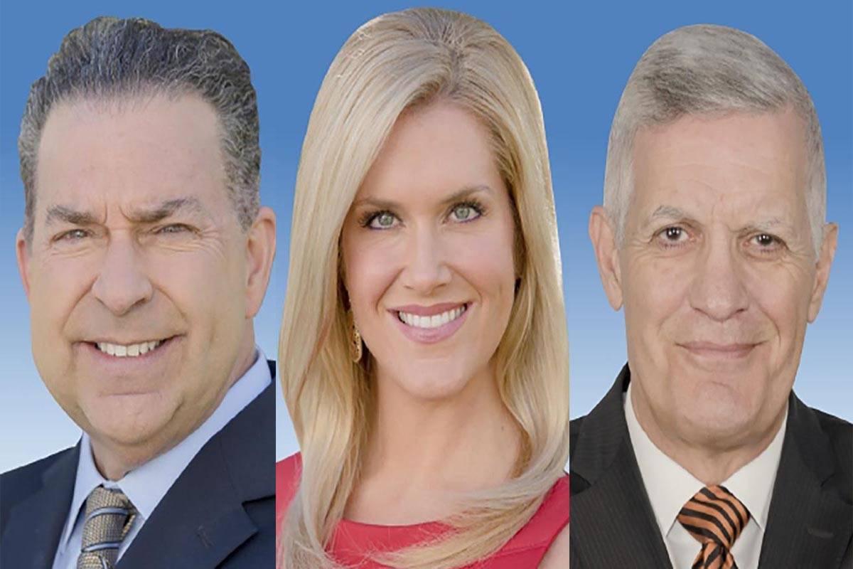 Gerard Ramalo, de izquierda a derecha, Heather Mills y Jerry Brown fueron tres de las cuatro pe ...