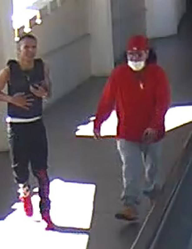 Dos sospechosos de un tiroteo ocurrido el viernes, 5 de marzo de 2021 en Las Vegas Boulevard So ...