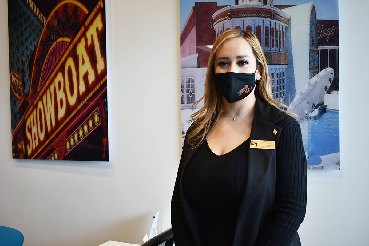 La gerente de Showboat Park Apartmets, Janeth Sánchez, conversó con El Tiempo sobre las ameni ...