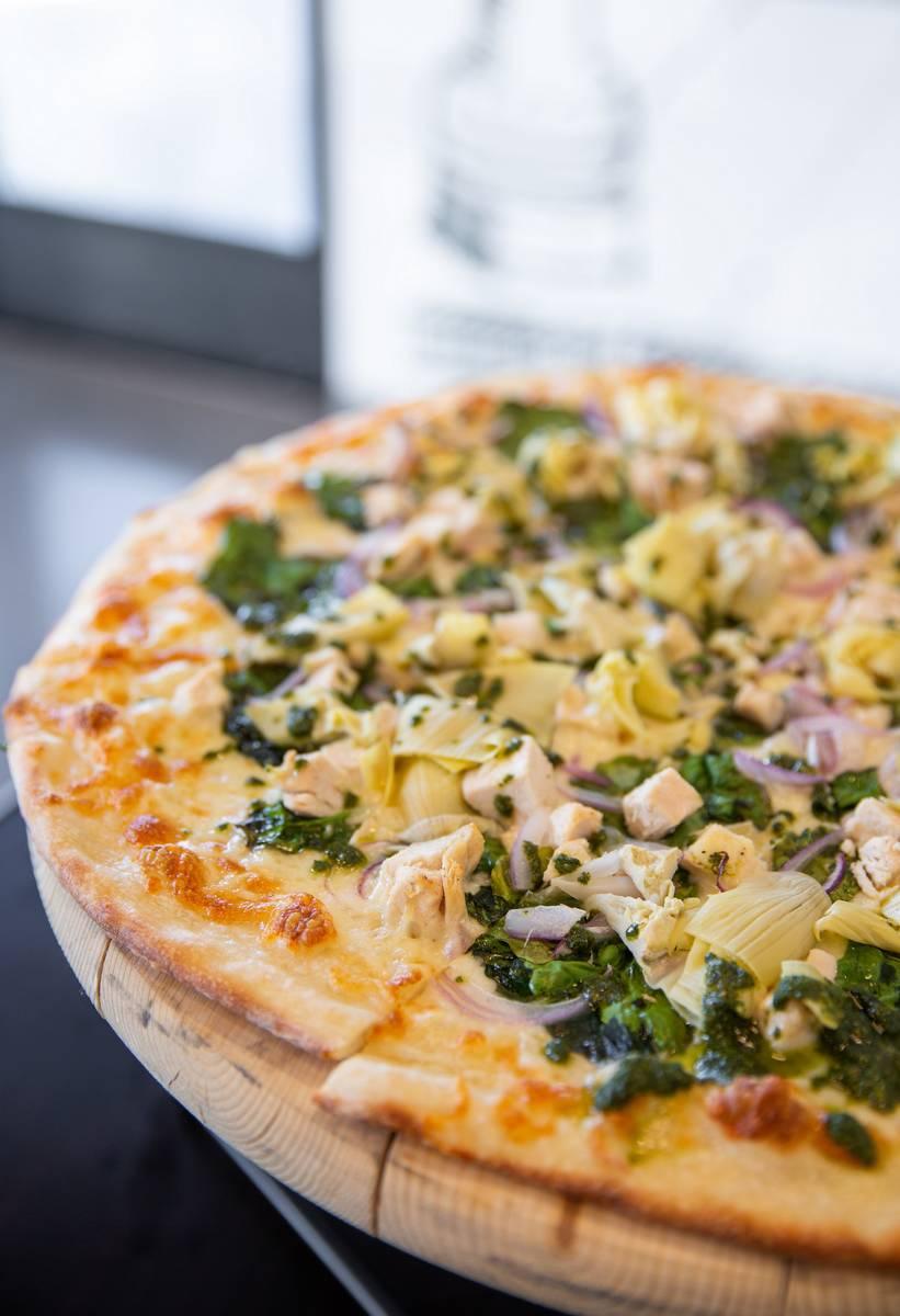 San Patrizio Pizza en Landini's Pizzeria. (Landini's Pizzeria)
