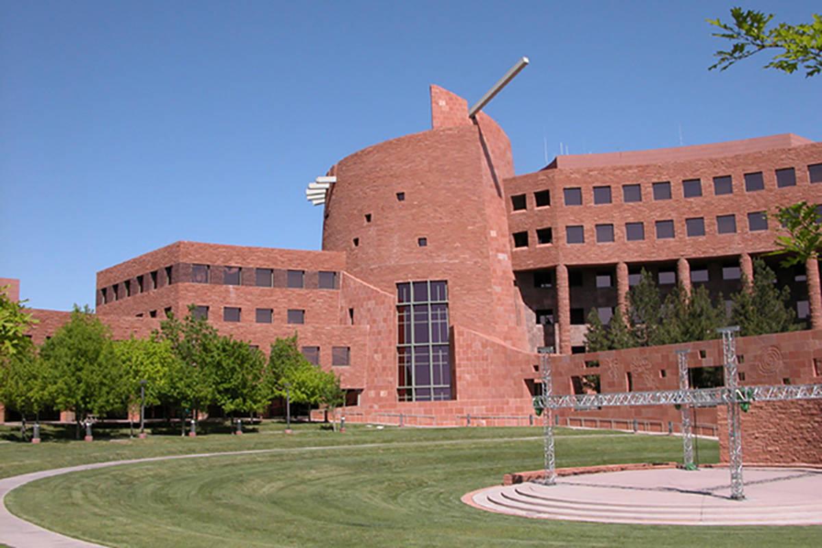 Clark County Government Building (Las Vegas Review-Journal)