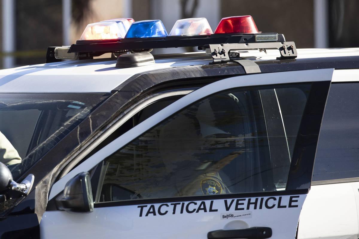 La policía de Las Vegas está investigando un tiroteo mortal el miércoles, 17 de marzo de 202 ...