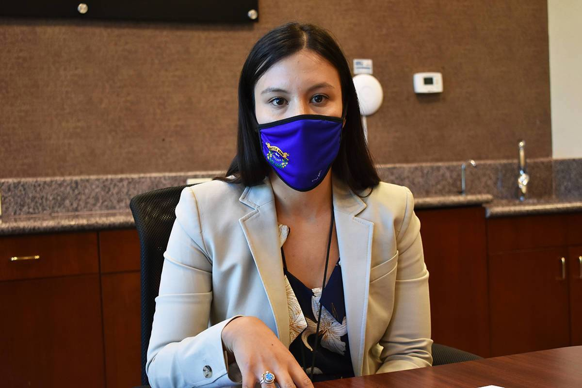 Fotografía de archivo de la directora de relaciones comunitarias y gubernamentales de UWSN, Ja ...