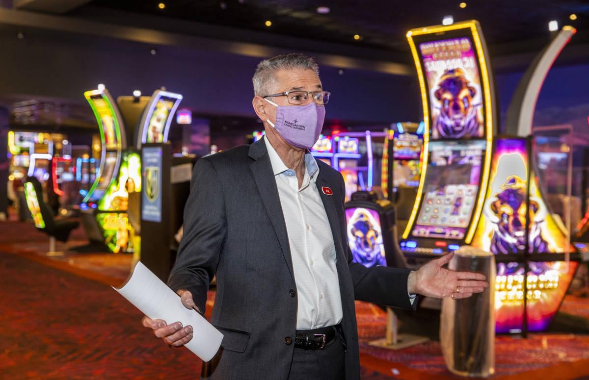 Joe Hasson, director general del Mohegan Sun Casino Las Vegas, habla de sus aportaciones en el ...