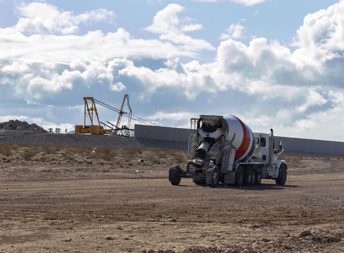 El proyecto de construcción de Haas Automation en South Larson Lane el martes, 23 de marzo de ...