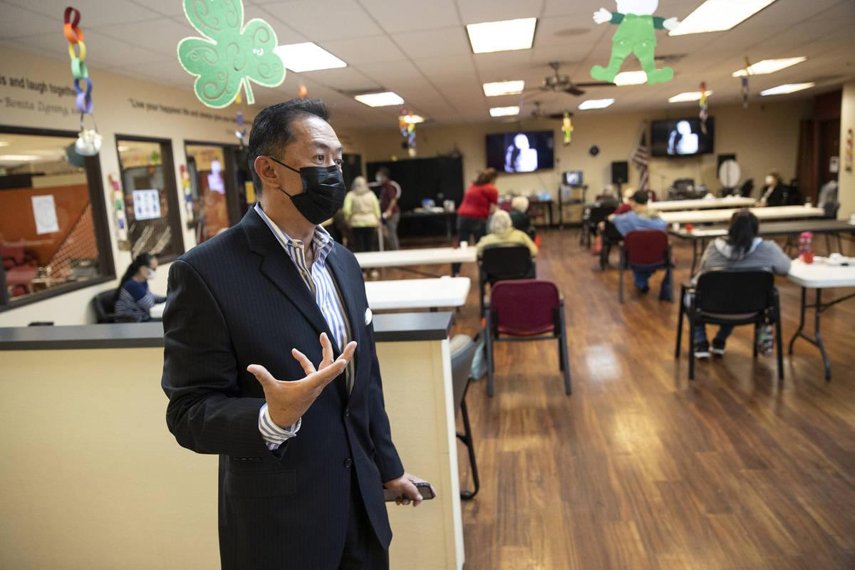 Christopher Vito, presidente y director ejecutivo de Nevada Adult Daycare Health Center en Las ...