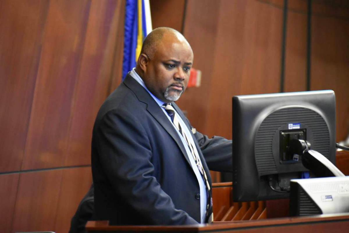 Fotografía de archivo del presidente de la Asamblea de Nevada, el demócrata Jason Frierson. D ...