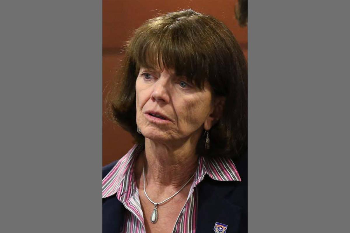 Fotografía de archivo de la líder republicana en la Asamblea de Nevada, Dra. Robin L. Titus. ...