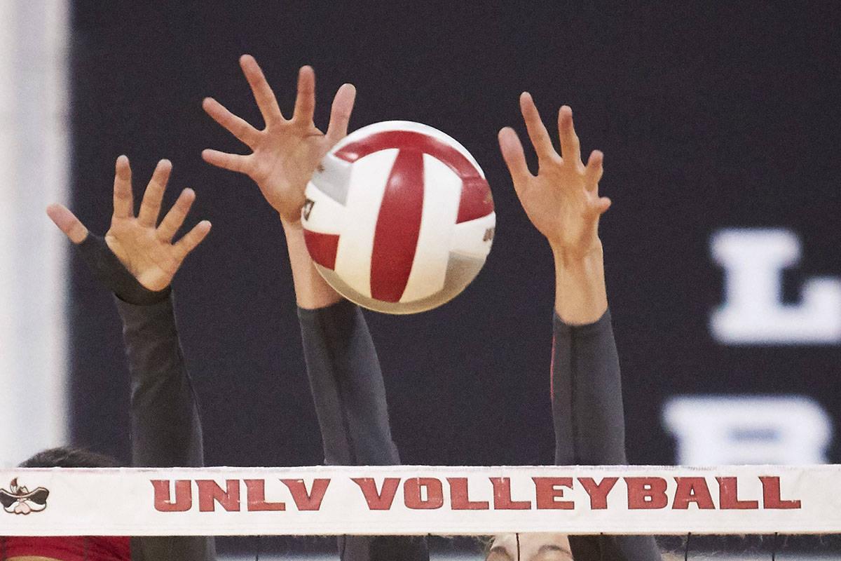 UNLV women's volleyball (UNLV Photo Services)