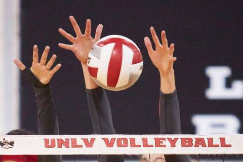 UNLV women's volleyball (UNLV Photo Services)