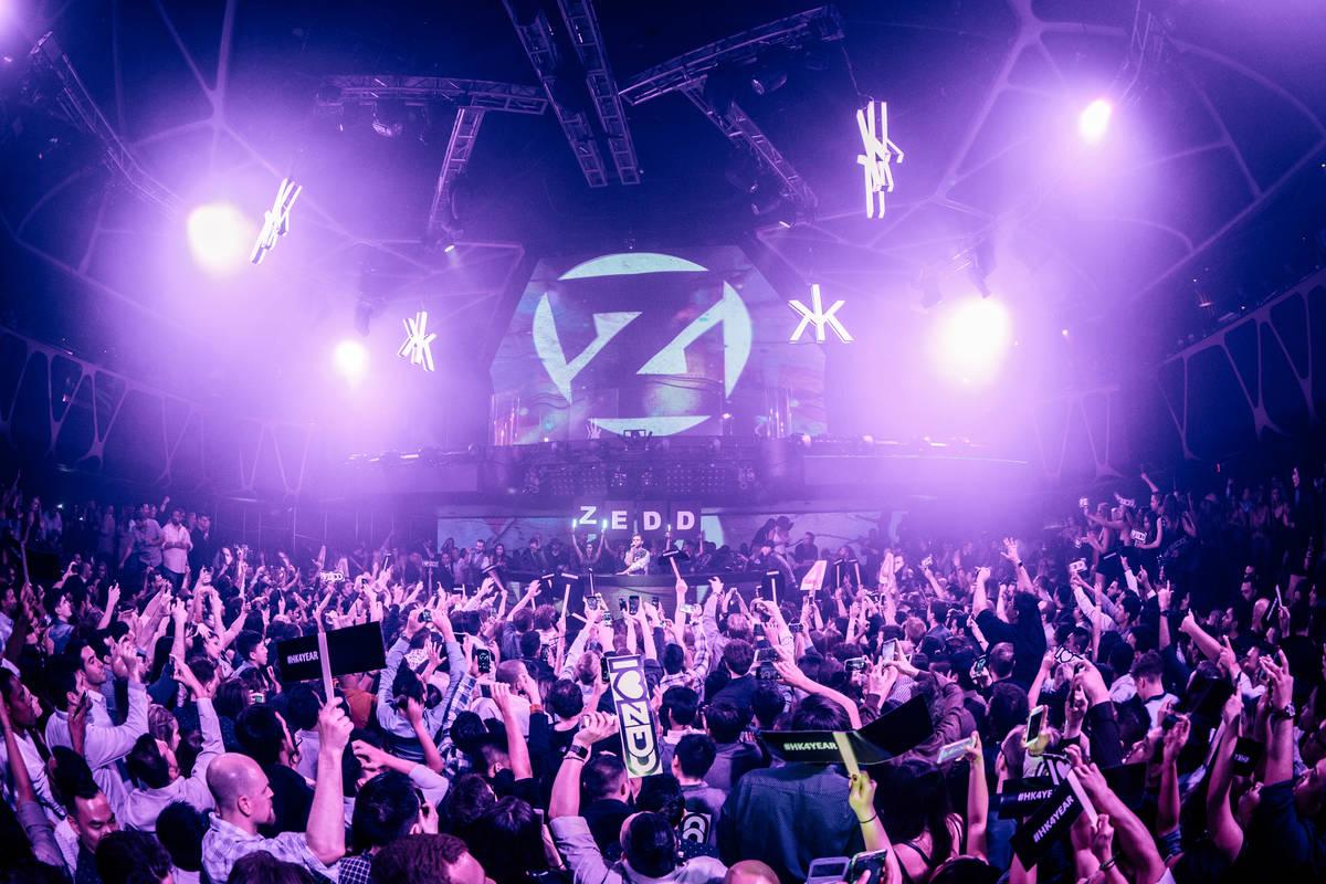 DJ Zedd encabeza Hakkasan en MGM Grand el viernes, 7 de abril de 2017 en Las Vegas. (Joe Janet)