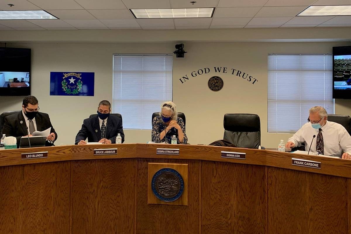 Nye County Commission (Especial al Las Vegas Review-Journal)