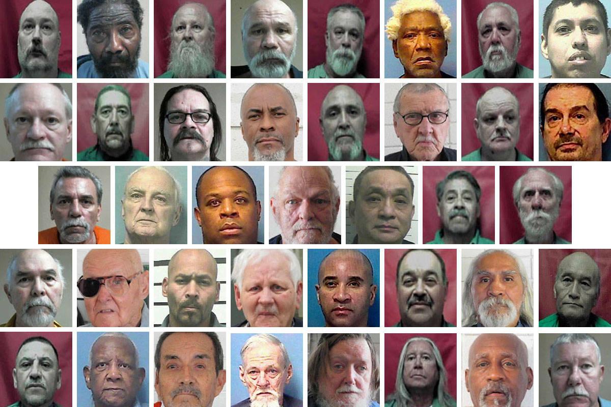 Fila superior, de izquierda a derecha: Ronald Altringer, 50; William Bell, 74; Paul Bouteiller, ...
