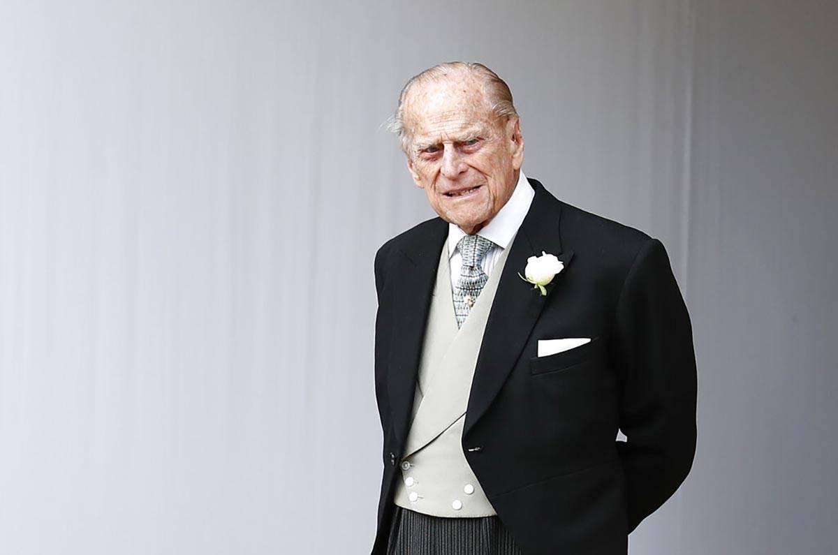 En esta foto de archivo del viernes, 12 de octubre de 2018, el príncipe Philip de Gran Bretañ ...