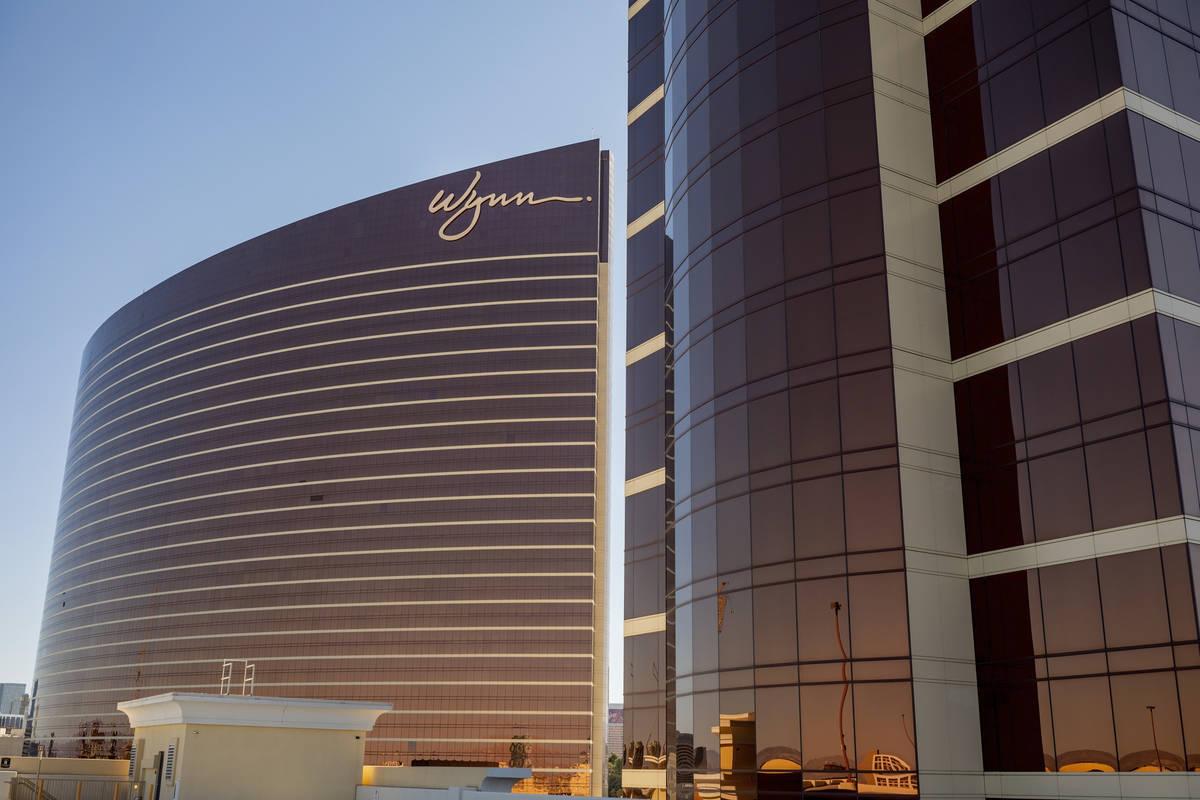 Wynn Las Vegas y Encore en el Strip de Las Vegas. (Las Vegas Review-Journal)