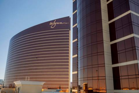 Wynn Las Vegas y Encore en el Strip de Las Vegas. (Las Vegas Review-Journal)