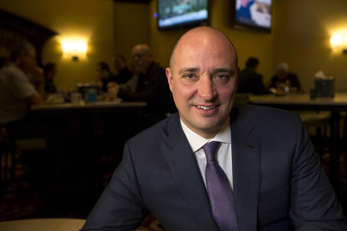 Matt Maddox, CEO de Wynn Resorts, visto en 2018 en Las Vegas. (Las Vegas Review-Journal)