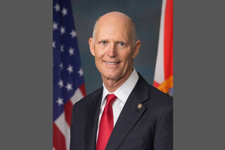 Senador Rick Scott. [Foto Cortesía, vía Juan Arias / National Republican Senatorial Committee]