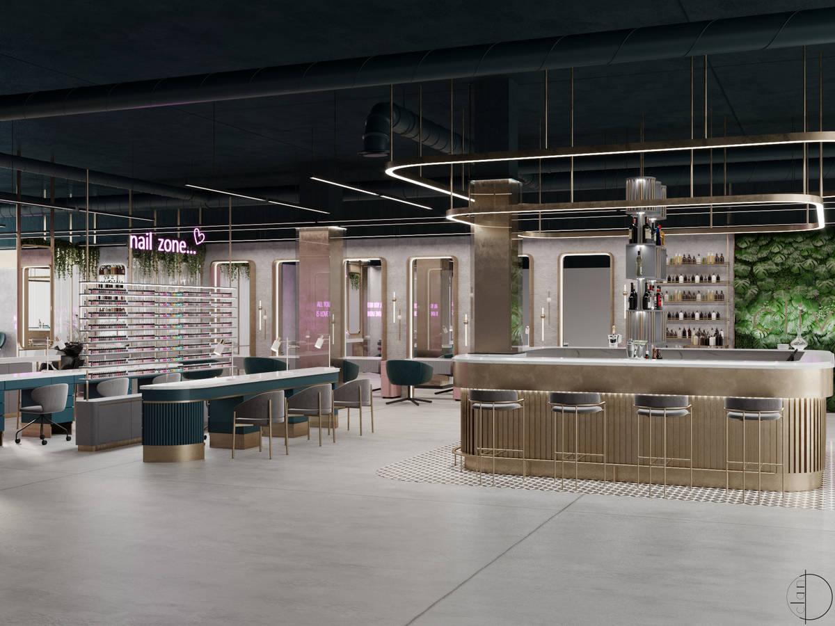 Render del salón Clivéi, cuya apertura está prevista para este verano en Resorts World Las V ...