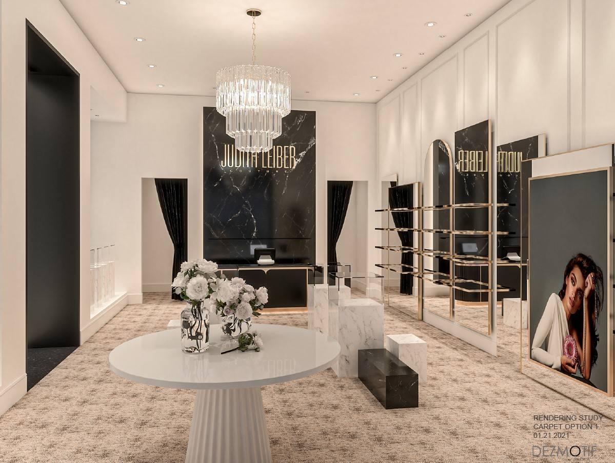 Render del local de Judith Leiber que está previsto abrir este verano en Resorts World Las Veg ...