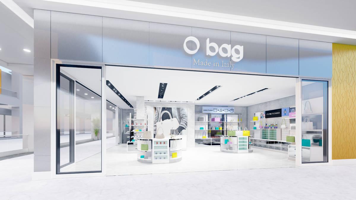 Render del local de O bag que está previsto abrir este verano en Resorts World Las Vegas. (Res ...