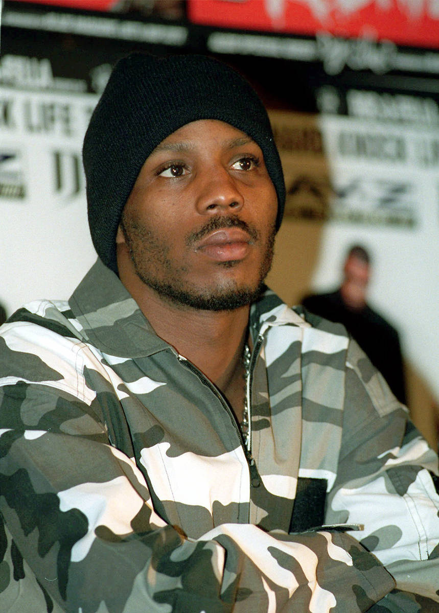 El artista de rap DMX aparece en una conferencia de prensa en Nueva York para anunciar una gira ...