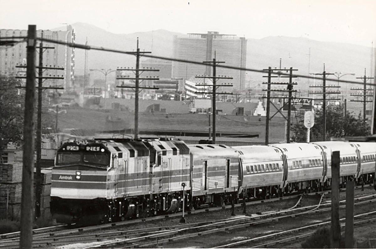Un tren de Amtrak. (Las Vegas Review-Journal, archivo)