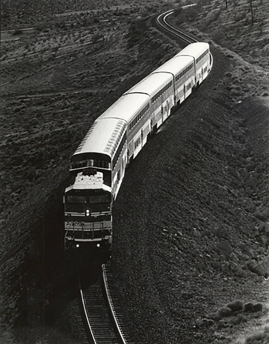 Un tren de Amtrak en 1993. (Las Vegas Review-Journal, archivo)