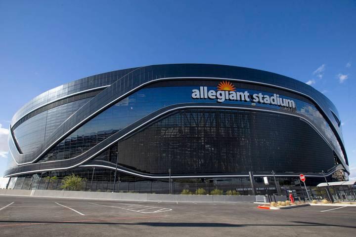 Allegiant Stadium fotografiado el sábado 12 de diciembre de 2020 en Las Vegas. [Foto Ellen Sch ...