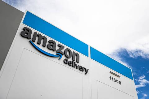 Las instalaciones de Amazon en 11500 Bermuda Road el jueves, 1º de abril de 2021, en Henderson ...