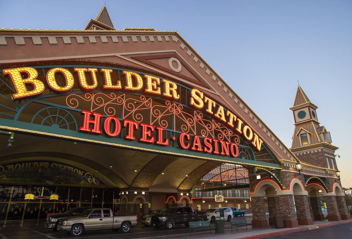 El casino Boulder Station el jueves, 3 de septiembre de 2020, en Las Vegas. (Benjamin Hager/Las ...