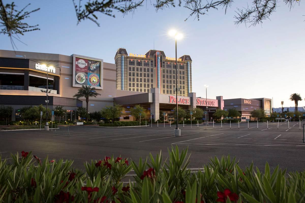 Palace Station fotografiado el jueves, 21 de mayo de 2020, en Las Vegas. (Bizuayehu Tesfaye/Las ...