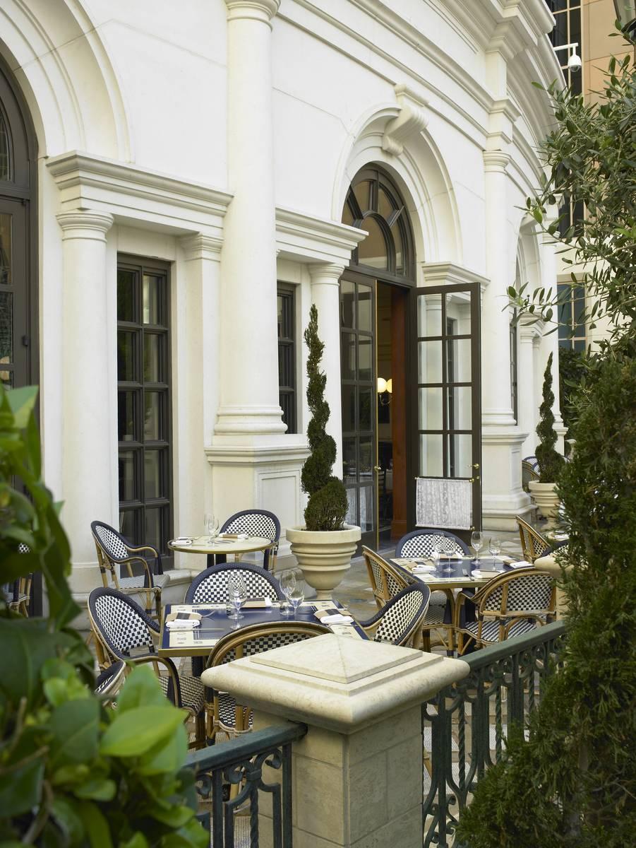 El patio de Bouchon en The Venetian. (Bouchon)