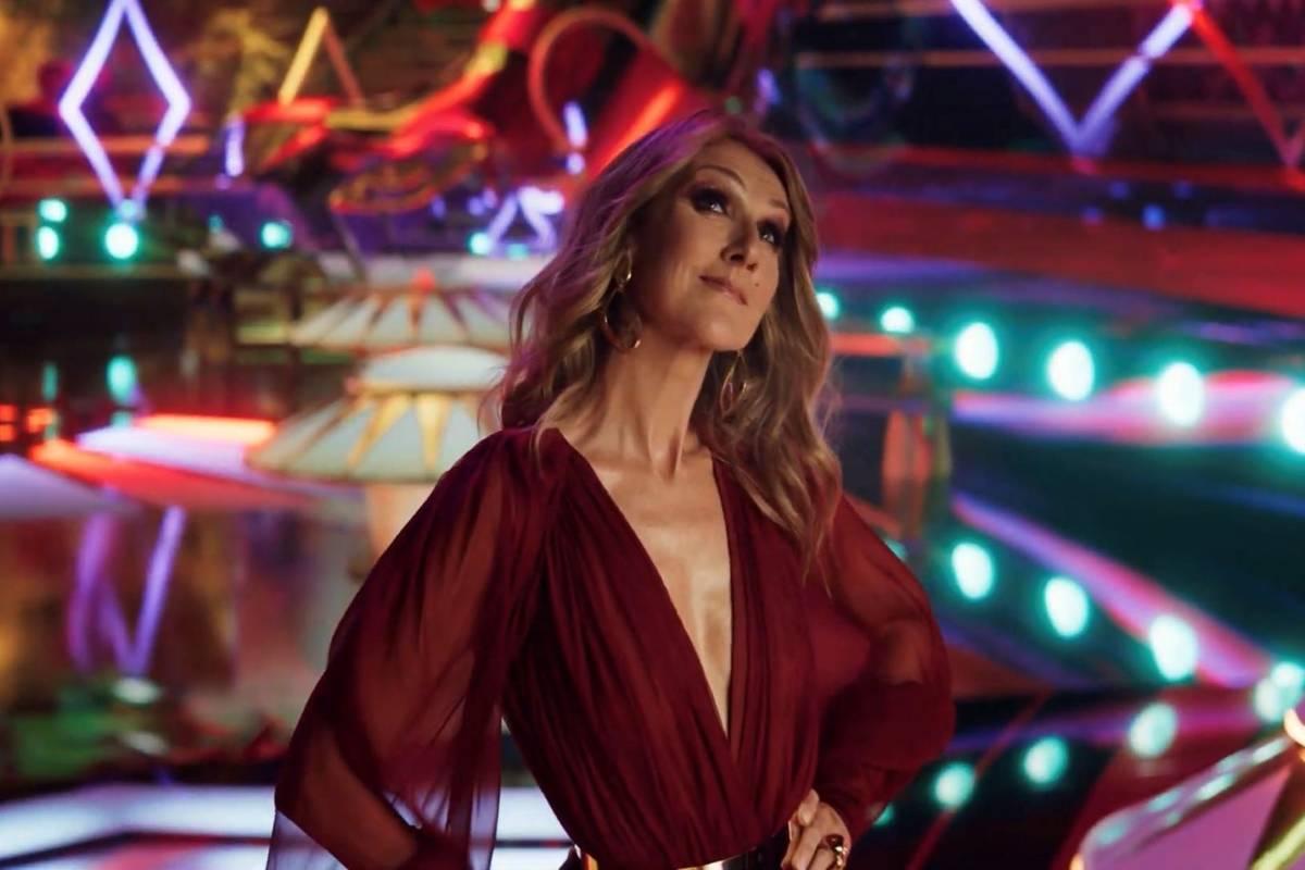 """Celine Dion en el nuevo anuncio de Resorts Worlds Las Vegas, """"Stay Fabulous"""", que promociona la ..."""