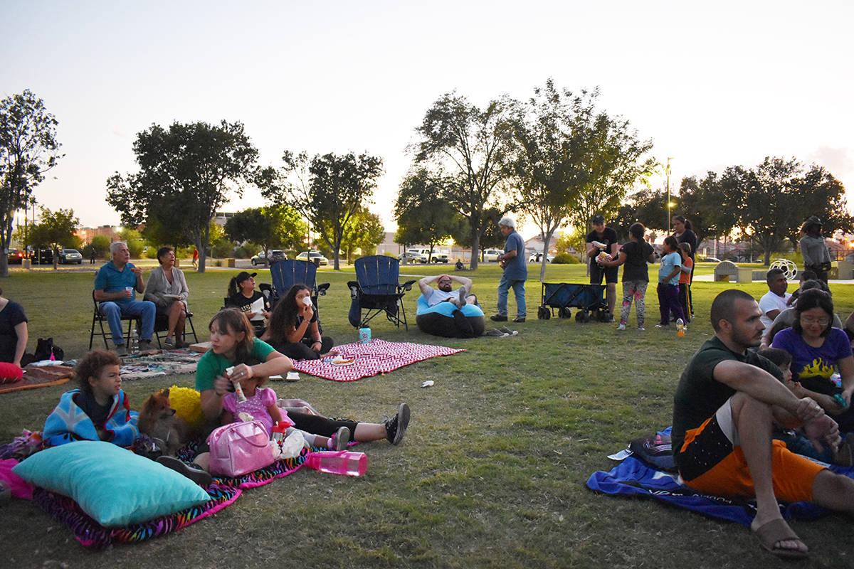 """Los eventos de """"Movie in the Park"""" regresan al Distrito 3 de Las Vegas. [Foto El Tiempo - Archivo]"""